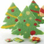طرز تهیه بیسکویت های درخت کریسمس