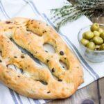 طرز تهیه فوگاس نان زیتون فرانسوی - آشپزی