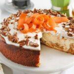 طرز تهیه چیز کیک هویج