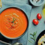 طرز تهیه سوپ گوجه فرنگی خامه ای