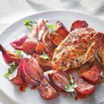 مرغ چیمی چوری به همراه سیب زمینی و پیاز - آشپزی