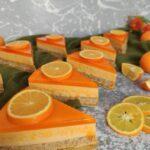 طرز تهیه ژله بستنیِ پرتقالی با بیسکویت