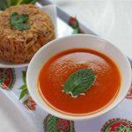 طرز تهیه آبگوشت کرمانشاهی با گوجه سبز