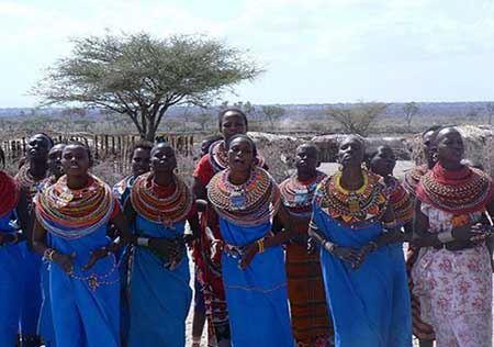 قبیله ای که ورود مردها به آن ممنوع است (عکس)