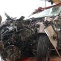 تصادف در جاده چالوس؛ ۱۱ نفر مصدوم شدند – حوادث