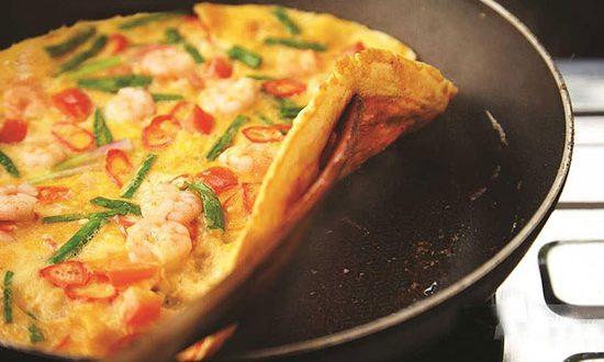طرز تهیه املت دریایی، صبحانه دریایی – آشپزی