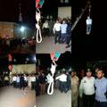 لحظه اعدام قاتل آتنا اصلانی – حوادث