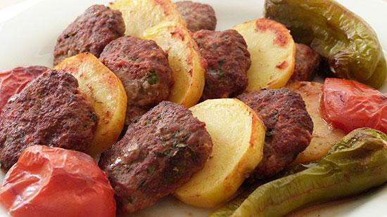 کوفته تنوری را با سیب زمینی سرو کنید! – آشپزی