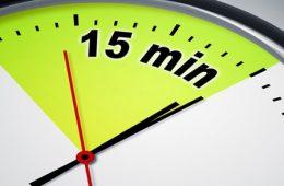 ۱۵ دقیقهای که زندگی شما را تضمین میکند – موفقیت