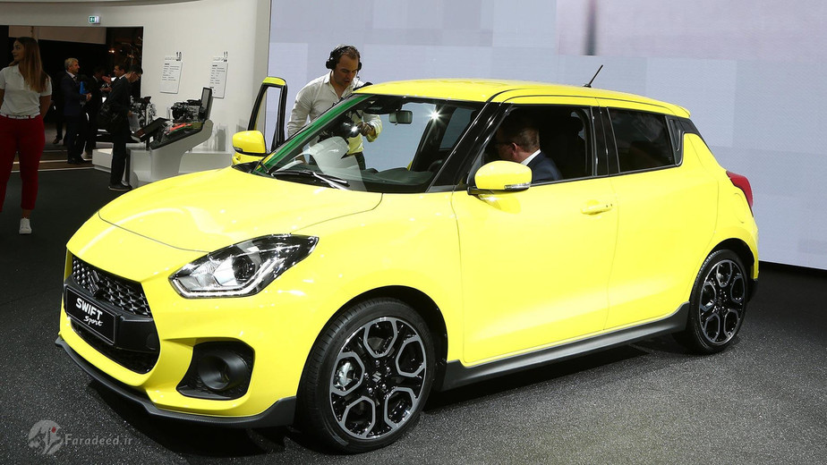 نسخه اسپورت خودروی محبوب شرکت سوزوکی یعنی سویفت در خلال نمایشگاه معرفی شد