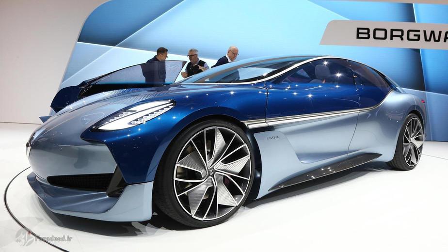 بورگوراد خودروساز دورگه چینی- آلمانی قصد دارد یک کوپه اسپورتی به یاد مدل های قدیمی خود در دهه 60 میلادی بسازد