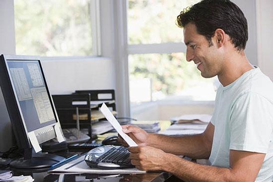 10 نکته اساسی برای موفقیت کسانی که در خانـه کار میکنند