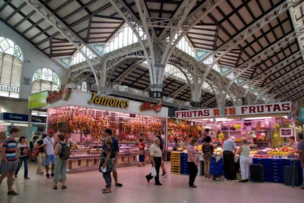 بازار مرکزی والنسیا- عکس بازار مرکزی والنسیا