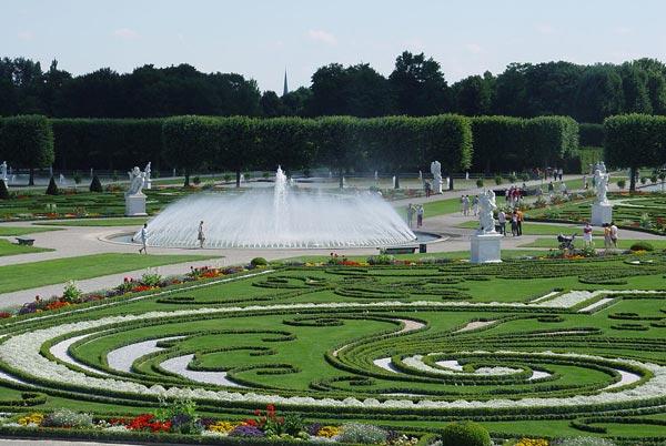 باغ های هرن هاوزن- عکس باغ های هرن هاوزن