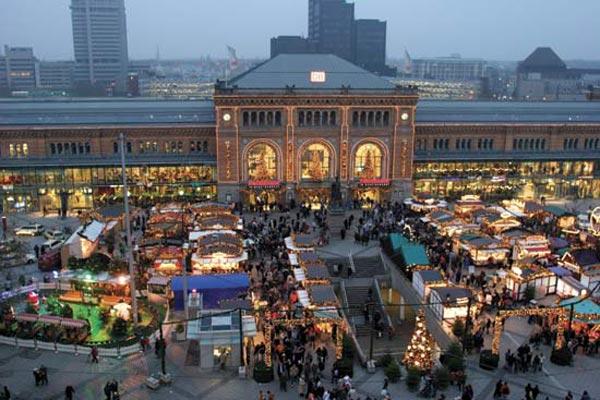 بازار هانوفر- عکس بازار هانوفر