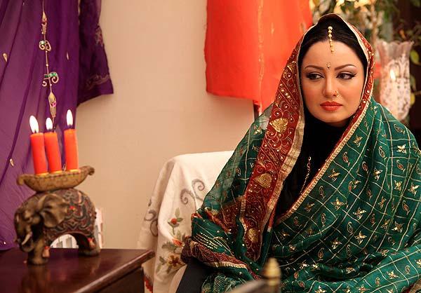 شیلا خداداد در سریال مسافری از هند