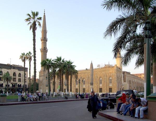 مسجد امام حسین (قاهره)- عکس مسجد امام حسین