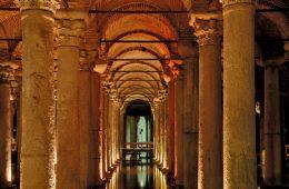 آب انبار باسیلیکا؛ بزرگترین آب انبار شهر استانبول