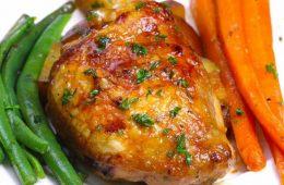 طرز تهیه مرغ عسلی با طعم سیر – آشپزی
