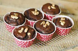 مافین شکلاتی و گردویی – آشپزی