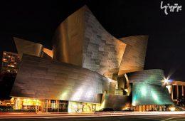 نگاهی به سالن کنسرت «والت دیزنی» با معماری «فرانک گری»
