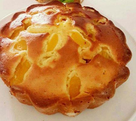 دستور پخت کیک زردآلو خوشمزه