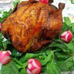دستور پخت مرغ شکم پر