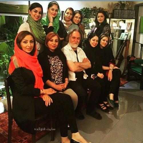 عکس گروه ماه بانو و سحر محمدی