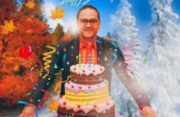 رامبد جوان در جشن تولد ۴۶ سالگی اش