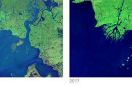 مقایسه تصاویری از جهان در طی گذر زمان – فناوری