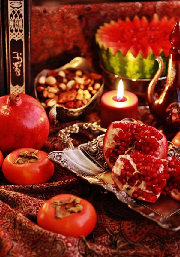 عکس شب یلدا برای پروفایل - عکس زیبای شب یلدا