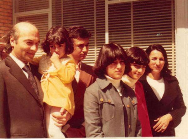دکتر علی شریعتی و همسرش