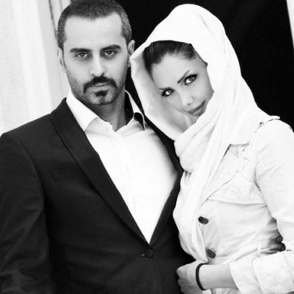 علیرام نورایی و همسرش صبا تاجیک