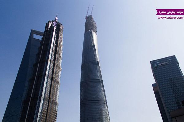 ابر سازهها، برج شانگهای، برج خلیفه، دبی، آسمان خراشها، توکیو، زیبا کنار، برج ساعت مکه، شوروی، چین