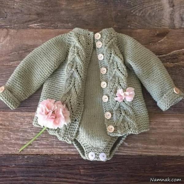 لباس بافت نوزادی