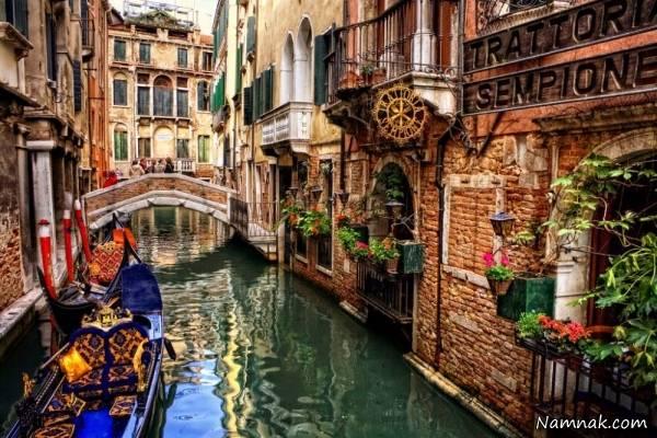 ونیز شهر گردشگری جهان