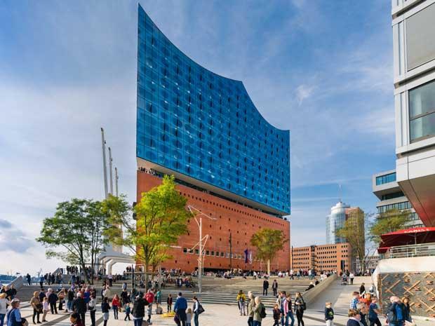 سالن کنسرت جدید و بسیار بزرگ Elbphilharmonie