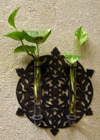 گلدان دیواری للو للو طرح دو قلمدان