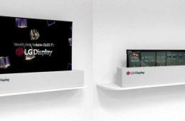 ال جی از تلویزیون اولد رول شونده ۶۵ اینچی با رزولوشن ۴K رونمایی کرد – فناوری