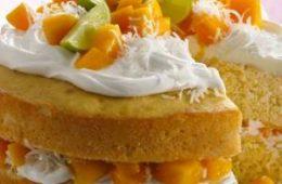 دستور پخت کیک انبه خوشمزه