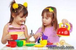 داشتن اسباب بازی زیاد برای کودکان مناسب نیست