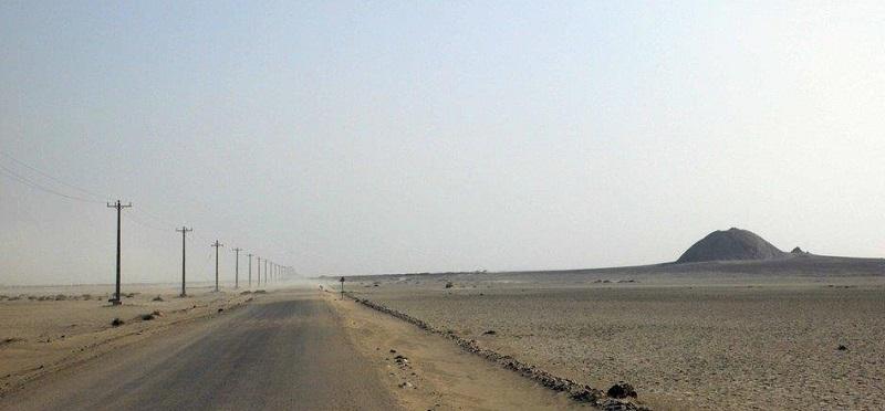 جاده روستای تنگ