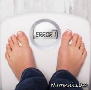 چرا لاغر نمیشم ؟