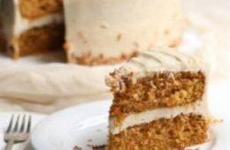 دستور پخت کیک هویج بافراستینگ ماسکارپونه
