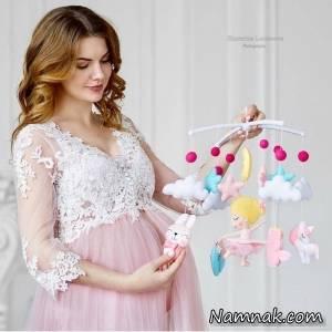 لباس حاملگی خانگی