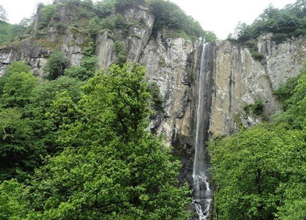 آبشار لاتون، مرتفعترین آبشار ایران
