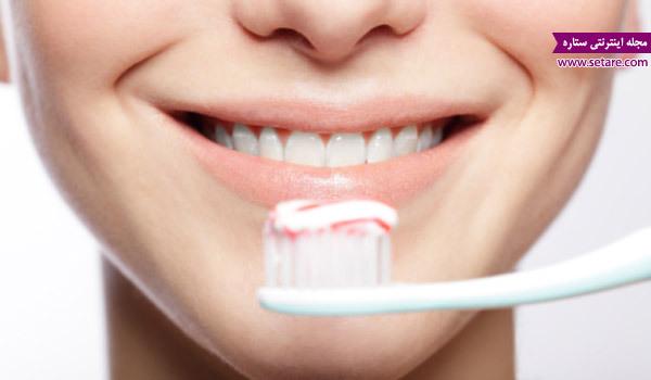 مسواک زدن، پوسیدگی دندان، التهاب لثه، دندان درد، کشیدن دندان، عصب کشی