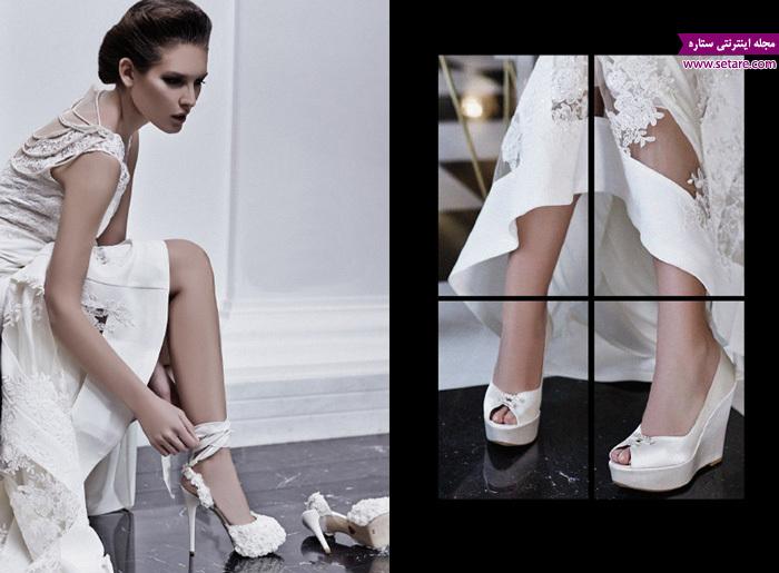 کفش عروس - مدل کفش عروس - عکس کفش - مدل لباس عروس