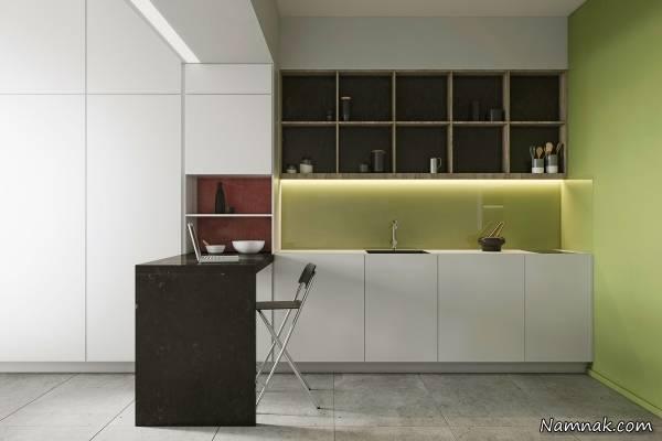 نور مخفی آشپزخانه