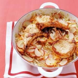 دستور پخت گوشت آرام پز با کلم